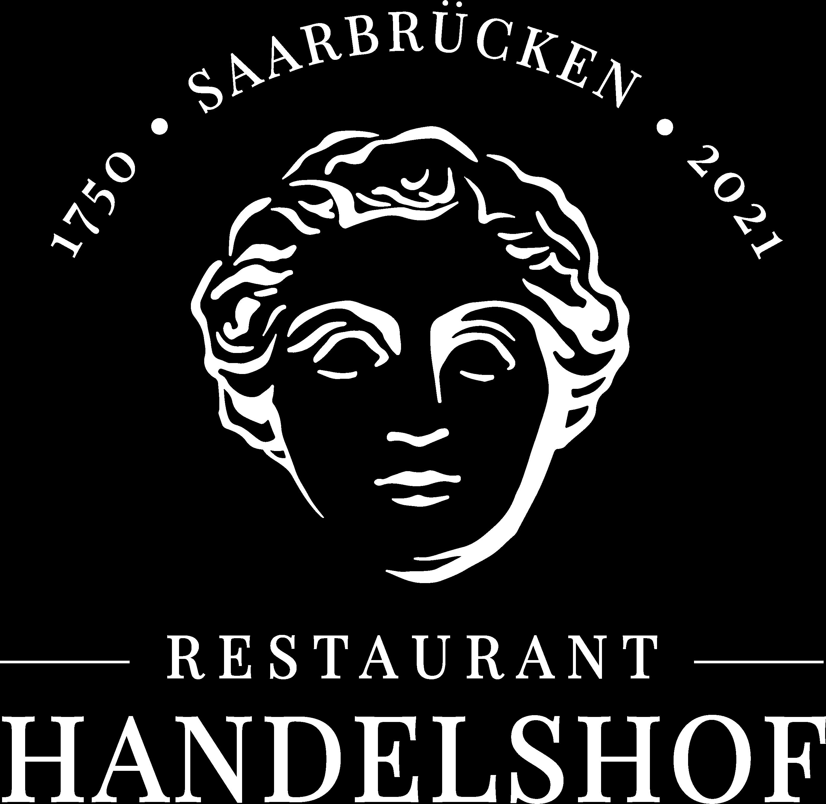 white logo Restaurant Handelshof